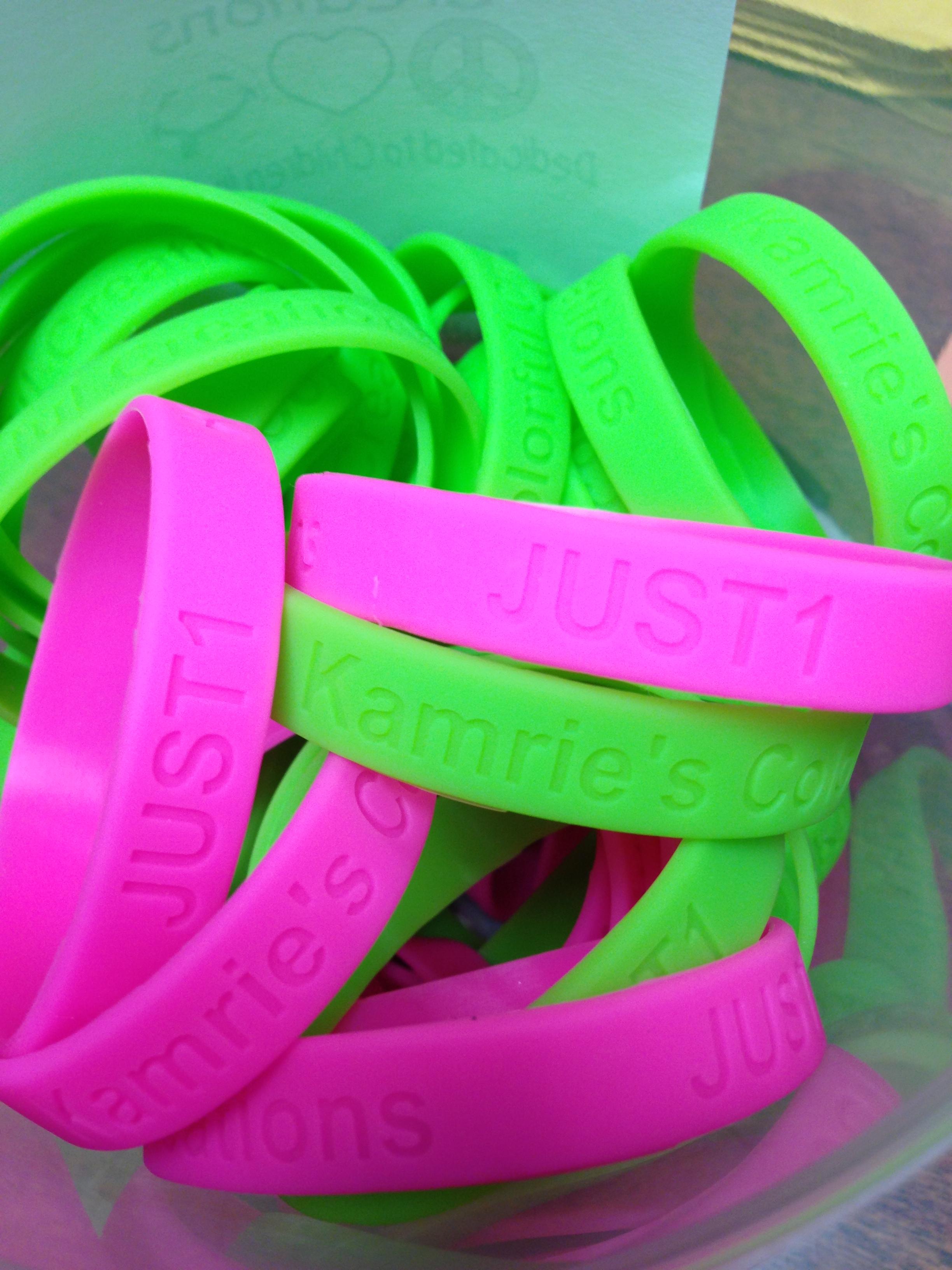 JUST1 bracelets